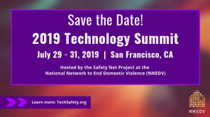 NNEDV Safety Net's 7th Annual Technology Summit