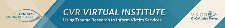 CVR Virtual Institute Banner