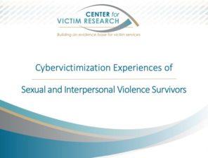 Cybervictimization