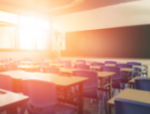 shutterstock_689327416_sunlit schoolroom