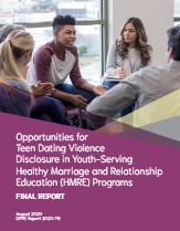 opportunities for teen dating violence