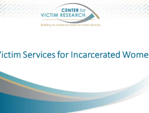 victim services for incarcerated women